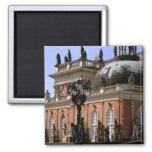 Europe, Germany, Potsdam. Parc Sanssouci, Neus 2 Inch Square Magnet
