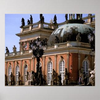 Europe, Germany, Potsdam. Parc Sanssouci, Neus Poster