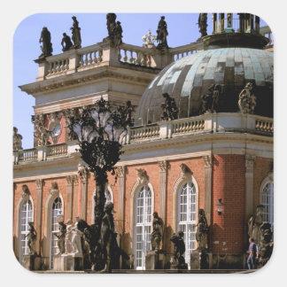 Europe, Germany, Potsdam. Parc Sanssouci, Neus Square Sticker