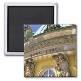 Europe, Germany, Potsdam. Park Sanssouci, 2 Inch Square Magnet