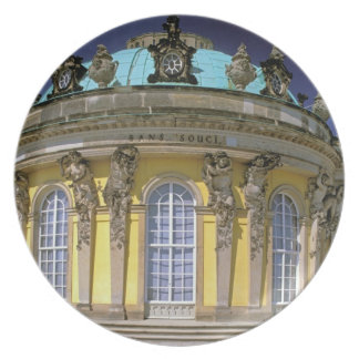 Europe, Germany, Potsdam. Park Sanssouci, 2 Melamine Plate