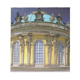 Europe, Germany, Potsdam. Park Sanssouci, 2 Notepad