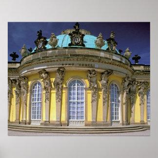 Europe, Germany, Potsdam. Park Sanssouci, 2 Poster