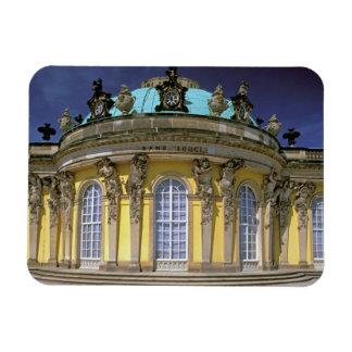 Europe, Germany, Potsdam. Park Sanssouci, 2 Rectangular Photo Magnet