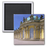 Europe, Germany, Potsdam. Park Sanssouci, 3 Refrigerator Magnets