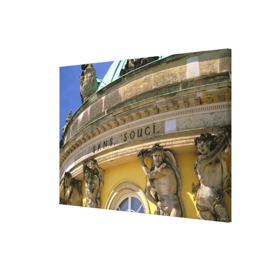 Europe, Germany, Potsdam. Park Sanssouci, Canvas Print