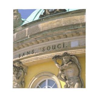 Europe, Germany, Potsdam. Park Sanssouci, Notepad