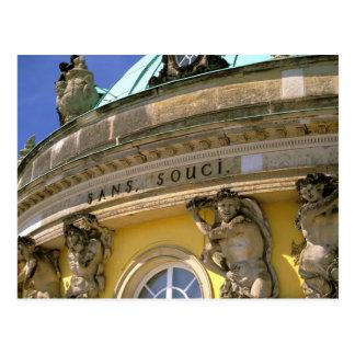 Europe, Germany, Potsdam. Park Sanssouci, Postcard