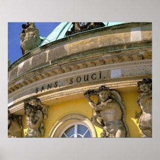 Europe, Germany, Potsdam. Park Sanssouci, Poster