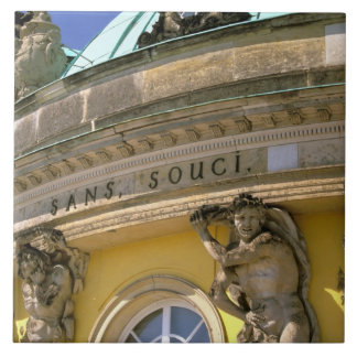 Europe, Germany, Potsdam. Park Sanssouci, Tile