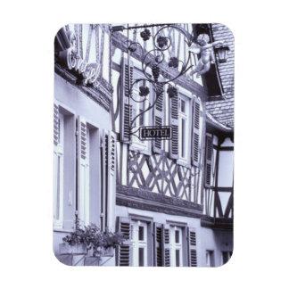 Europe, Germany, Rhineland, Pfalz, Boppard. Half Magnets
