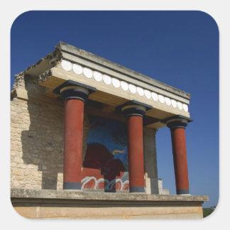 Europe, Greece, Crete (aka Kriti), Heraklion 2 Square Stickers