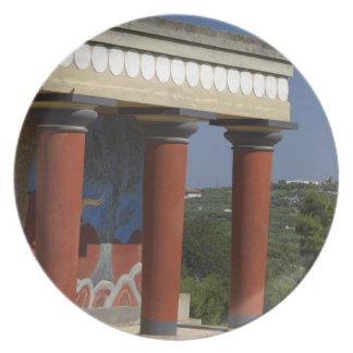 Europe, Greece, Crete (aka Kriti), Heraklion Party Plate