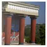 Europe, Greece, Crete (aka Kriti), Heraklion Ceramic Tiles