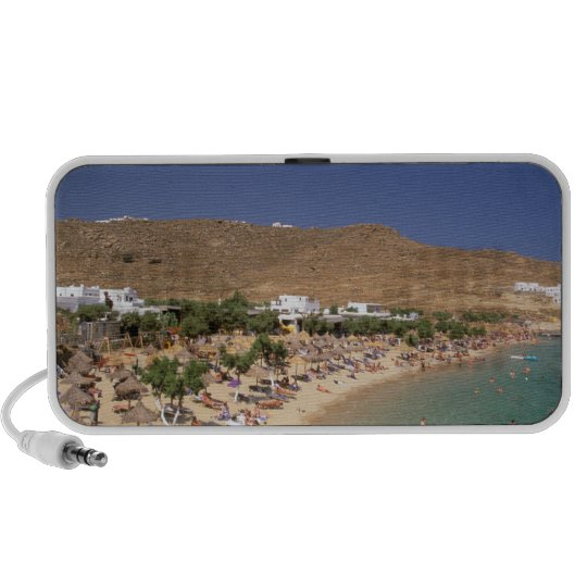 Europe, Greece, Cyclades Islands, Mykonos. 2 Portable Speaker