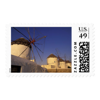 Europe, Greece, Cyclades Islands, Mykonos, 2 Postage