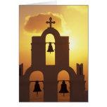 Europe, Greece, Cyclades Islands, Santorini, Card