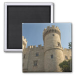 Europe, Greece, Dodecanese Islands, Rhodes: 2 Inch Square Magnet