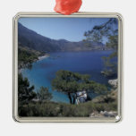 Europe, Greece, Karpathos, Dodecanese; Apella Christmas Tree Ornament
