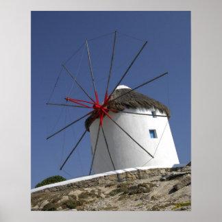Europe, Greece, Mykonos. 3 Poster