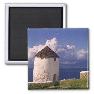 Europe, Greece, Mykonos. A striking white Magnet