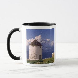 Europe, Greece, Mykonos. A striking white Mug