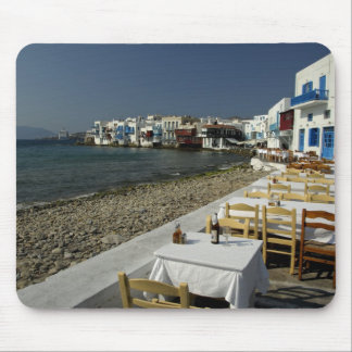 Europe, Greece, Mykonos. Views of the seaside Mouse Pad