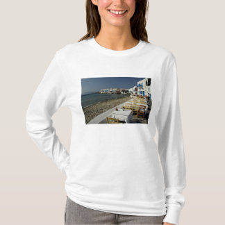 Europe, Greece, Mykonos. Views of the seaside T-Shirt