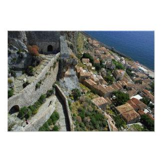 Europe, Greece, Peloponnese, Monemvasia Photo Print