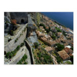 Europe, Greece, Peloponnese, Monemvasia Postcard