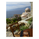 Europe, Greece, Peloponnese, Monemvasia (single Postcard