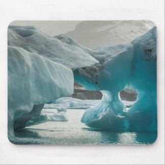 Europe, Iceland, JokUSArlon. Iceberg Formations Mouse Pad