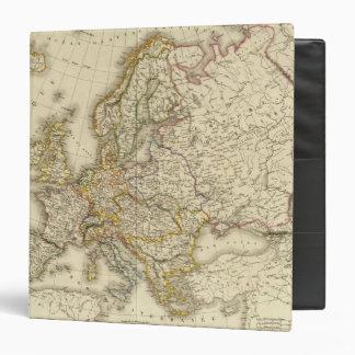 Europe in 1789 3 ring binder