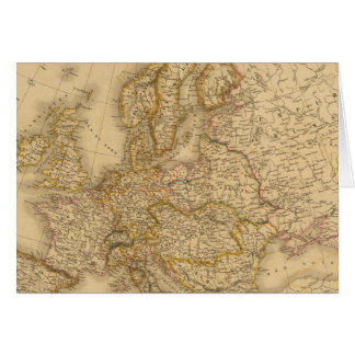 Europe in 1789 card