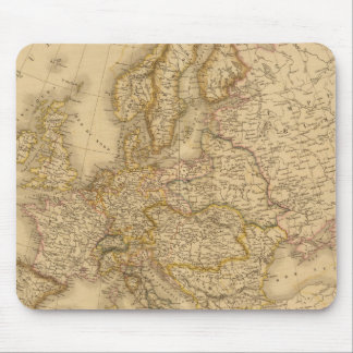 Europe in 1789 mouse pad