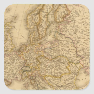 Europe in 1789 stickers