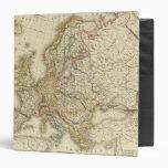 Europe in 1789 vinyl binders