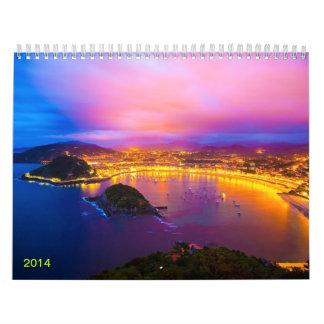 Europe in Photos Calendar