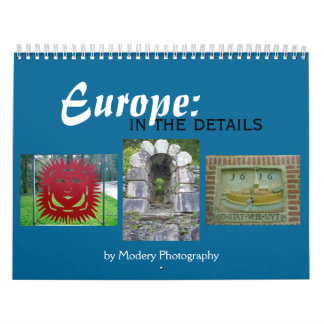 Europe: In the Details 2017 Calendar