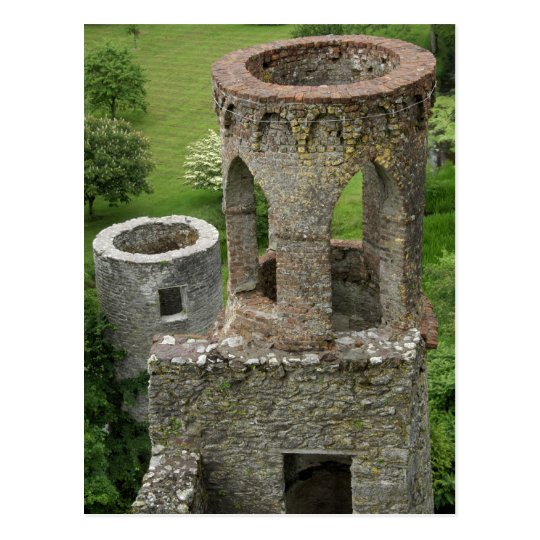 Europe, Ireland, Blarney Castle. THIS IMAGE Postcard