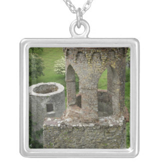 Europe, Ireland, Blarney Castle. THIS IMAGE Silver Plated Necklace