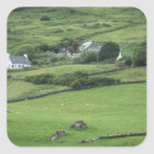 Europe, Ireland, Kerry County, Ring of Kerry. Square Sticker