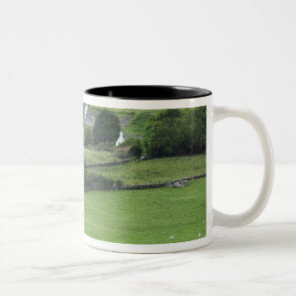 Europe, Ireland, Kerry County, Ring of Kerry. Two-Tone Coffee Mug