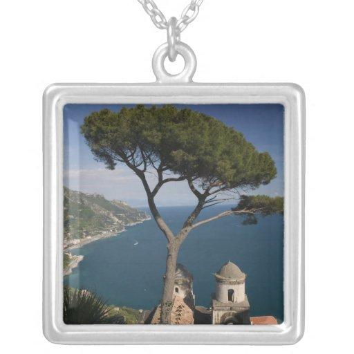 Europe, Italy, Campania, (Amalfi Coast), 2 Square Pendant Necklace