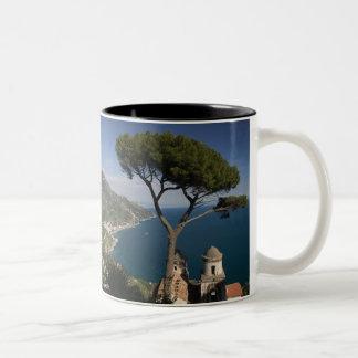 Europe, Italy, Campania, (Amalfi Coast), 2 Two-Tone Coffee Mug