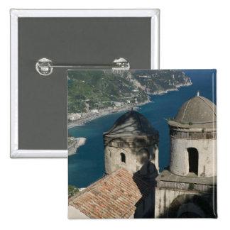 Europe, Italy, Campania, (Amalfi Coast), 3 Pinback Buttons