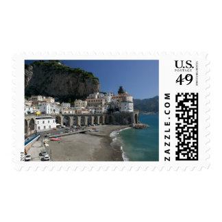 Europe, Italy, Campania, (Amalfi Coast), Amalfi: Postage Stamp