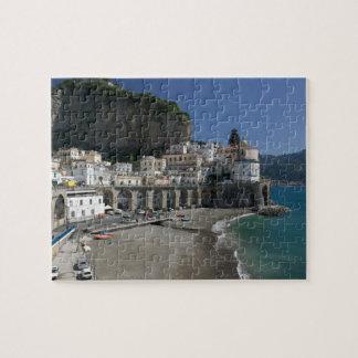 Europe, Italy, Campania, (Amalfi Coast), Amalfi: Jigsaw Puzzles