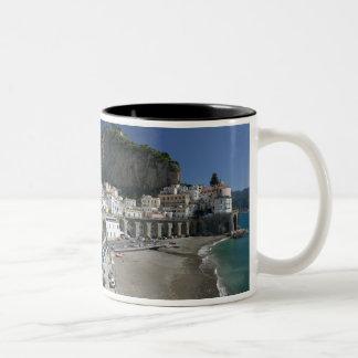 Europe, Italy, Campania, (Amalfi Coast), Amalfi: Two-Tone Coffee Mug