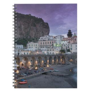 Europe, Italy, Campania (Amalfi Coast) Atrani: Note Books